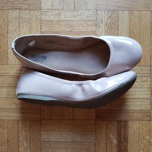 Mossimo Ballet Flats, Pink